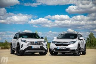 Fotos comparativa Toyota RAV4 vs Honda CR-V Hybrid - Miniatura 20