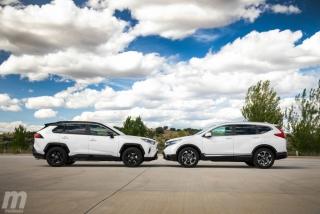 Fotos comparativa Toyota RAV4 vs Honda CR-V Hybrid - Miniatura 22