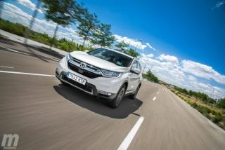 Fotos comparativa Toyota RAV4 vs Honda CR-V Hybrid - Miniatura 58