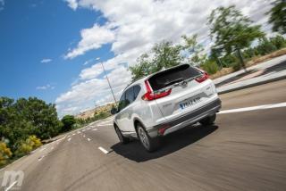 Fotos comparativa Toyota RAV4 vs Honda CR-V Hybrid - Miniatura 60
