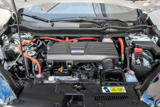 Fotos comparativa Toyota RAV4 vs Honda CR-V Hybrid - Miniatura 108