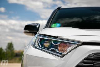 Fotos comparativa Toyota RAV4 vs Honda CR-V Hybrid - Miniatura 113