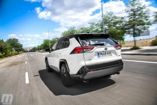 Fotos comparativa Toyota RAV4 vs Honda CR-V Hybrid - Miniatura 139