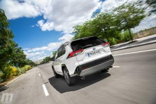 Fotos comparativa Toyota RAV4 vs Honda CR-V Hybrid - Miniatura 140