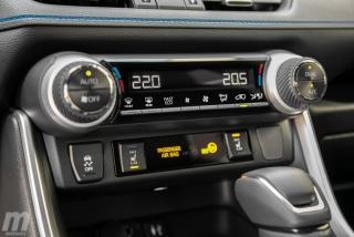 Fotos comparativa Toyota RAV4 vs Honda CR-V Hybrid - Miniatura 155