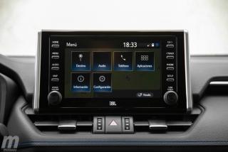 Fotos comparativa Toyota RAV4 vs Honda CR-V Hybrid - Miniatura 166