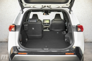 Fotos comparativa Toyota RAV4 vs Honda CR-V Hybrid - Miniatura 177