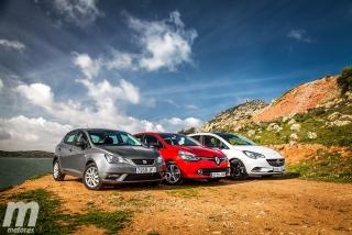 Fotos Comparativa de utilitarios: Opel Corsa, Renault Clio, Seat Ibiza - Miniatura 4