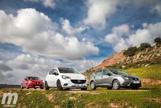 Fotos Comparativa de utilitarios: Opel Corsa, Renault Clio, Seat Ibiza - Miniatura 5