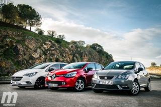 Foto 1 - Fotos Comparativa de utilitarios: Opel Corsa, Renault Clio, Seat Ibiza
