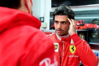 Las fotos del debut de Carlos Sainz con Ferrari en Fiorano Foto 4