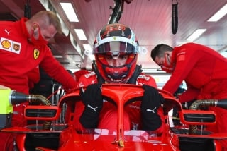 Las fotos del debut de Carlos Sainz con Ferrari en Fiorano Foto 5