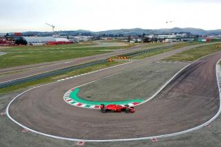 Las fotos del debut de Carlos Sainz con Ferrari en Fiorano Foto 7