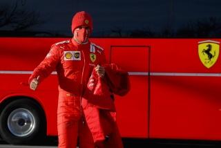 Las fotos del debut de Carlos Sainz con Ferrari en Fiorano Foto 9