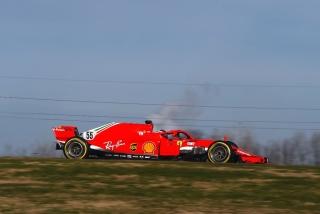 Las fotos del debut de Carlos Sainz con Ferrari en Fiorano Foto 10