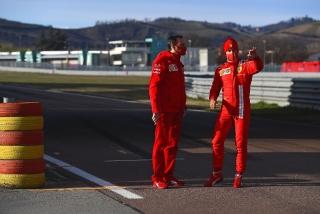 Las fotos del debut de Carlos Sainz con Ferrari en Fiorano Foto 12