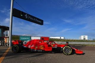 Las fotos del debut de Carlos Sainz con Ferrari en Fiorano Foto 13