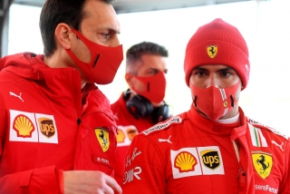 Las fotos del debut de Carlos Sainz con Ferrari en Fiorano Foto 14