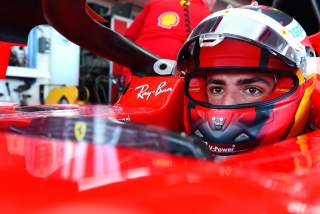 Las fotos del debut de Carlos Sainz con Ferrari en Fiorano Foto 15