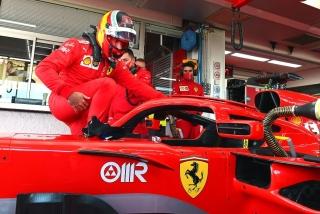 Las fotos del debut de Carlos Sainz con Ferrari en Fiorano Foto 16