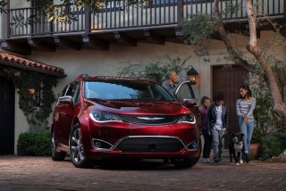 Fotos del Chrysler Pacifica 2017 Foto 4