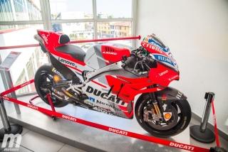 Fotos del museo y la fábrica de Ducati