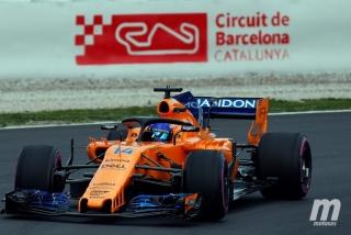 Fotos día 1 test Barcelona F1 2018 Foto 23