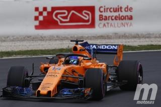 Fotos día 1 test Barcelona F1 2018 Foto 35