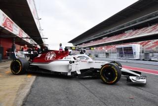 Fotos día 2 test Barcelona F1 2018 Foto 5