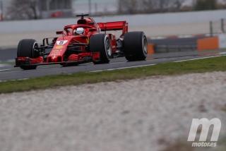 Fotos día 2 test Barcelona F1 2018 Foto 47