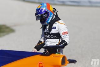 Fotos día 6 test Barcelona F1 2018