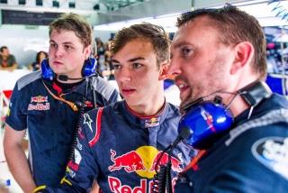 Fotos Pierre Gasly F1 2017 Foto 19