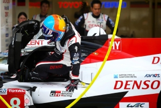 Fotos Fernando Alonso 24 Horas de Le Mans 2018 Foto 14