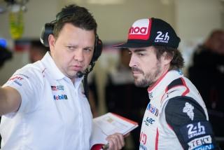 Fotos Fernando Alonso 24 Horas de Le Mans 2018 Foto 15