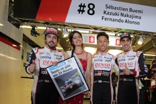 Fotos Fernando Alonso 24 Horas de Le Mans 2018 Foto 38
