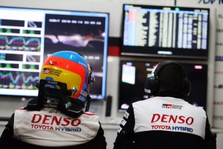 Fotos Fernando Alonso 24 Horas de Le Mans 2018 Foto 35