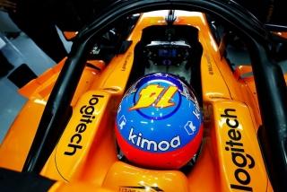 Foto 1 - Fotos Fernando Alonso F1 2018