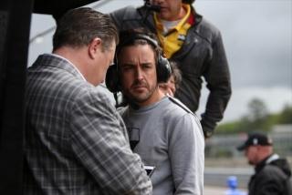 Fotos Fernando Alonso Indy 500 Foto 19
