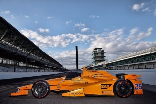 Fotos Fernando Alonso Indy 500