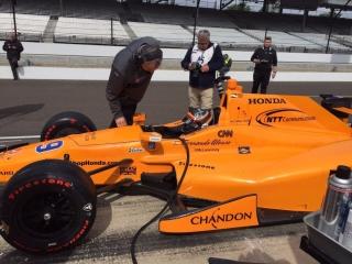 Fotos Fernando Alonso Indy 500 Foto 45