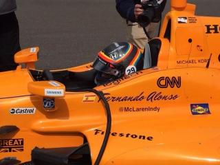 Fotos Fernando Alonso Indy 500 Foto 54