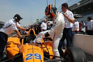 Fotos Fernando Alonso Indy 500 Foto 104