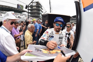 Fotos Fernando Alonso Indy 500 Foto 141