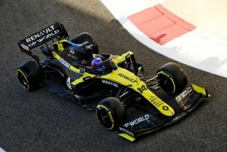 Las fotos del test de Fernando Alonso en Abu Dhabi - Foto 1