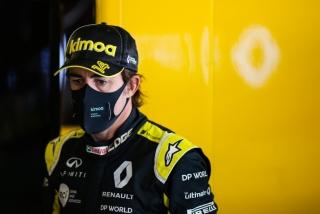 Las fotos del test de Fernando Alonso en Abu Dhabi - Miniatura 6