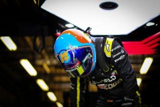 Las fotos del test de Fernando Alonso en Abu Dhabi - Miniatura 8
