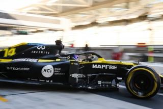 Las fotos del test de Fernando Alonso en Abu Dhabi - Miniatura 9