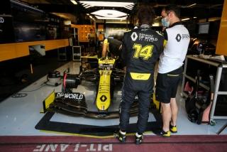 Las fotos del test de Fernando Alonso en Abu Dhabi - Miniatura 10