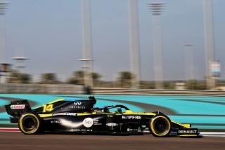 Las fotos del test de Fernando Alonso en Abu Dhabi - Miniatura 12