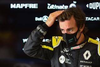 Las fotos del test de Fernando Alonso en Abu Dhabi - Miniatura 13